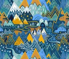 Maximalist Mountain Maze - Large Scale