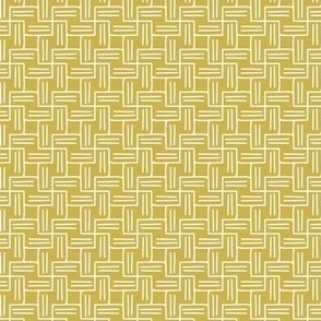 Chart A Course - Geometric Citron Yellow Small Scale