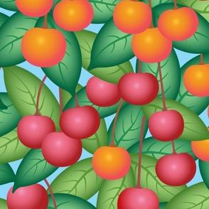Ripe and Juicy Cherries - LARGE Scale - UnBlink Studio by Jackie Tahara