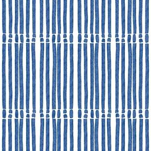 Broken Blue stripes