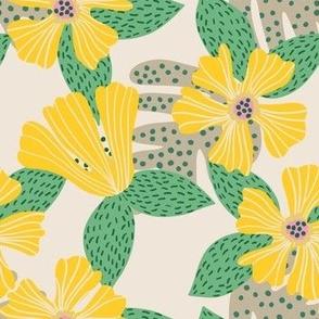 Hibiscus Sunshine Yellow