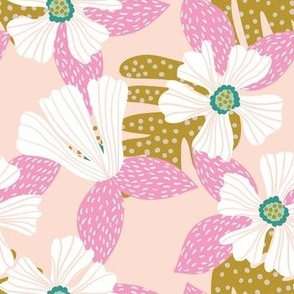Hibiscus Pink Gold