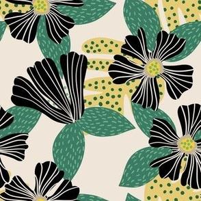 Hibiscus Black Green