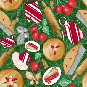 Christmas Cherry Pie
