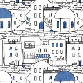 Little city blue