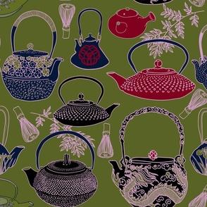 Japanese Vintage Teapot on MATCHA2
