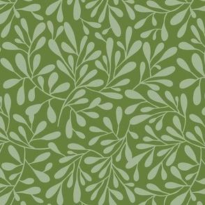 Breeze - Botanical Tonal Green Regular Scale