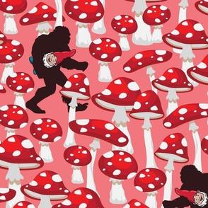 Bigfoot Mushroom Forest