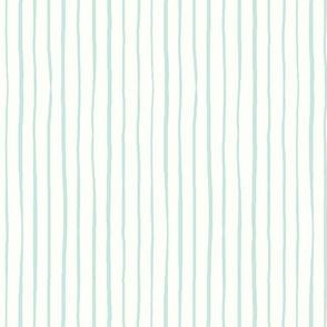 casual vacation thin minty stripes