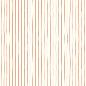 casual vacation thin coral stripes