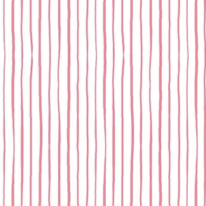 casual vacation skinny pink stripes