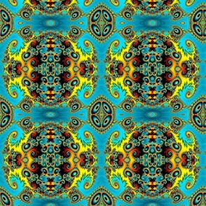 Blue Jewel Tile