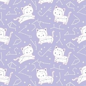 Pastel Purple Catstellation
