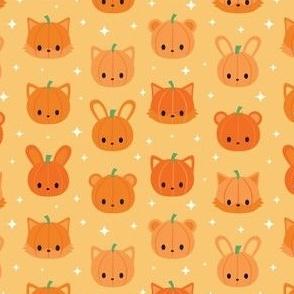 Cute Animal Pumpkins