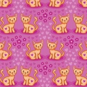 Medium_Kitty Cat Pattern_Laura Wayne Design