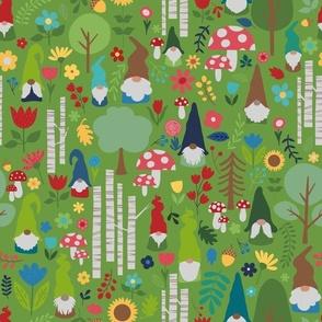 gnome garden green