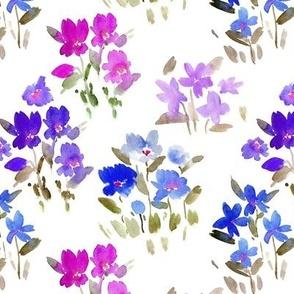 dolce meadow - watercolor wild flowers a345-4