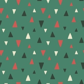 Abstract Triangles - Christmas (medium scale)