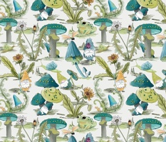 Gnome Garden - large scale by JAF Studio