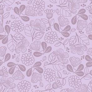 Petunias Dreamy Purple