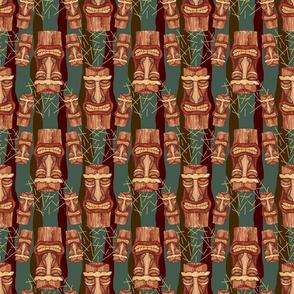 tiki pattern (vintage stripes)