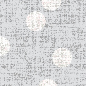 textured dots-w/shell pink-jumbo-mid century