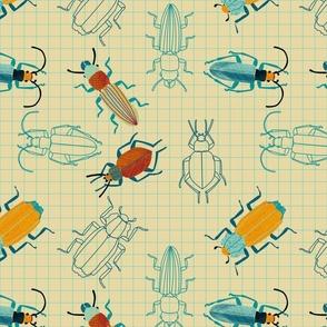 retro bugs notebook - challenge