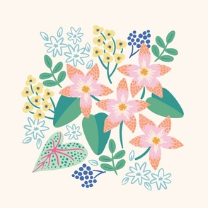Orchids Day Panel Print