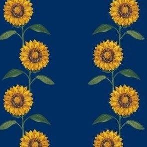 sunflowers (royal blue)