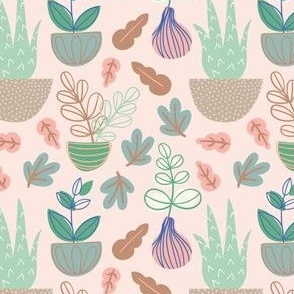 Green Thumb in Soft Pink