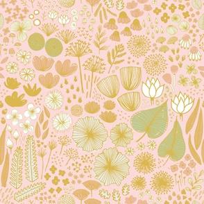 Botanical Sketchbook M+M Icing by Friztin