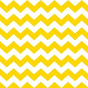 White and yellow chevrons.