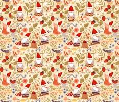 Strawberry Picking Gnomes