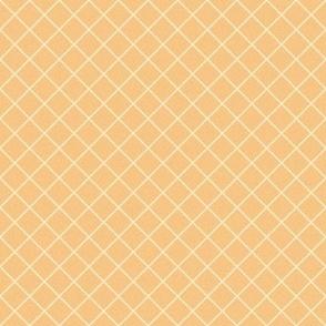 rhombs on yellow