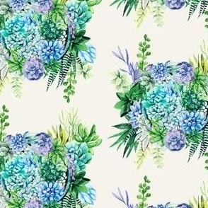 Watercolour Succulent