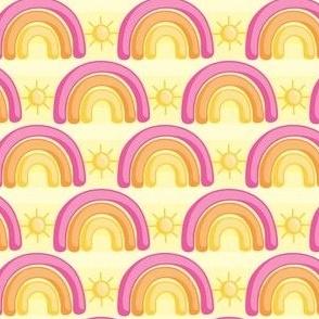 Rainbows and Sunshine_Yellow_Laura Wayne Design