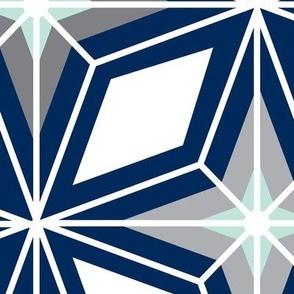 Nordic_star_-_mid_century_modern_geometric_-_navy__mint_green_grey_jumbo_scale