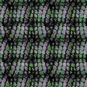 Grunge Cobblestones - moss splatter