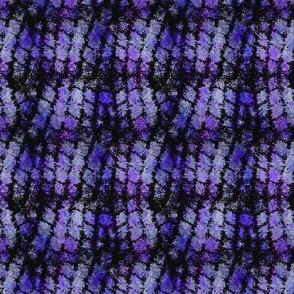 Grunge Cobblestones - violet splatter