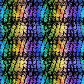 Grunge Cobblestones - rainbow