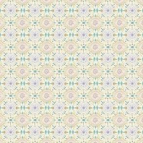 Mini Flower Tile Dreamy Purple