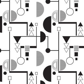 Bauhaus white medium