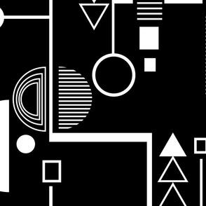 Bauhaus black large
