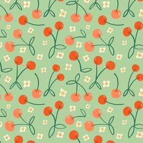 Tossed Cherries