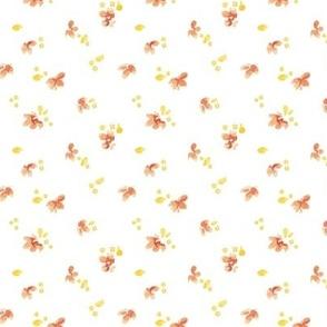 Scattered Flower Petals - Medium