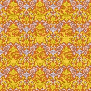 Peach Garden-Fruit Bowl Yellow Regular Scale