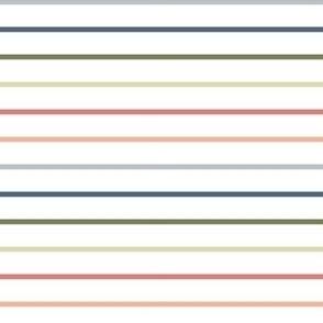 Rainbow Stripes - Small