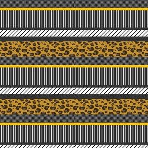 Geometric Animal Print Patchwork Collage