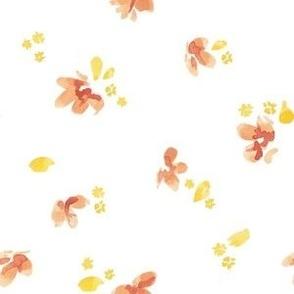Scattered Flower Petals - Large
