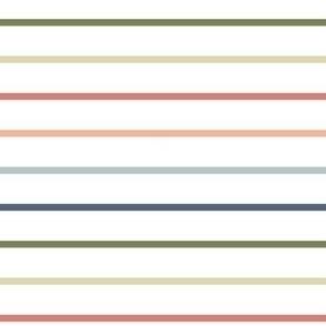 Rainbow Stripes - Medium